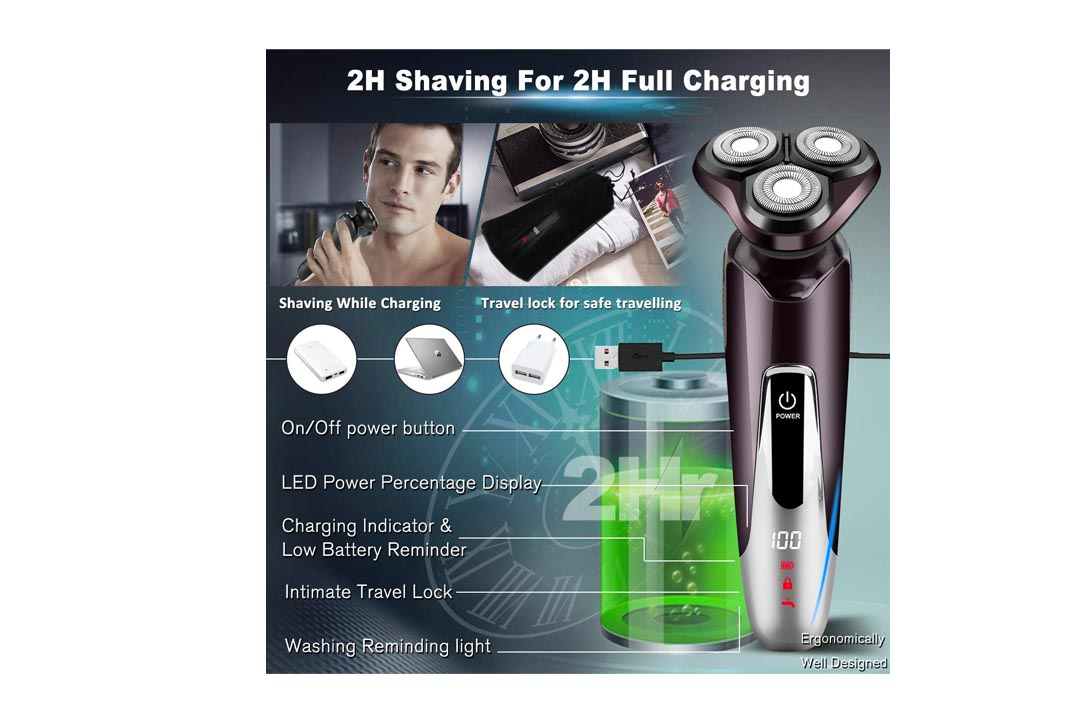 Electric Shavers for Men by Adhope