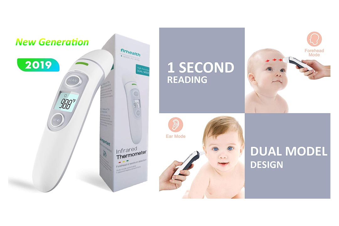 Firhealth Forehead and Ear Thermometer