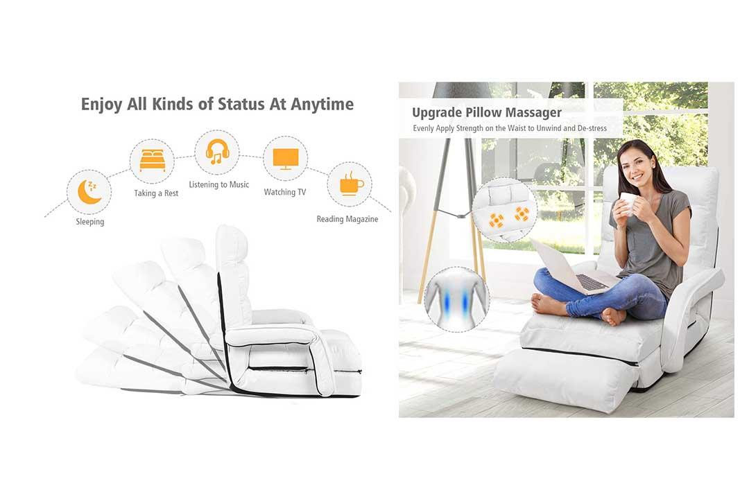 Giantex Folding Lazy Sofa Floor Chair