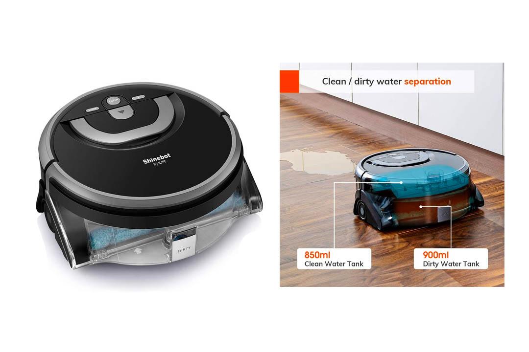 ILIFE Shinebot W400 Floor Washing Scrubbing Robot