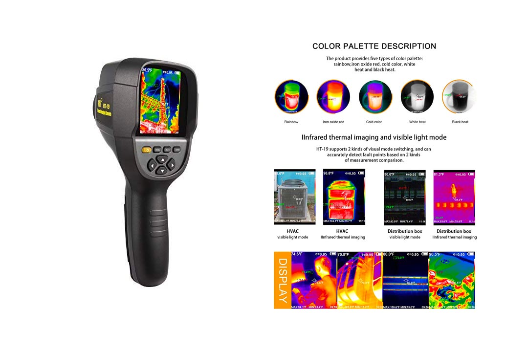 New Higher Resolution 320 x 240 IR Infrared Thermal Images Camera