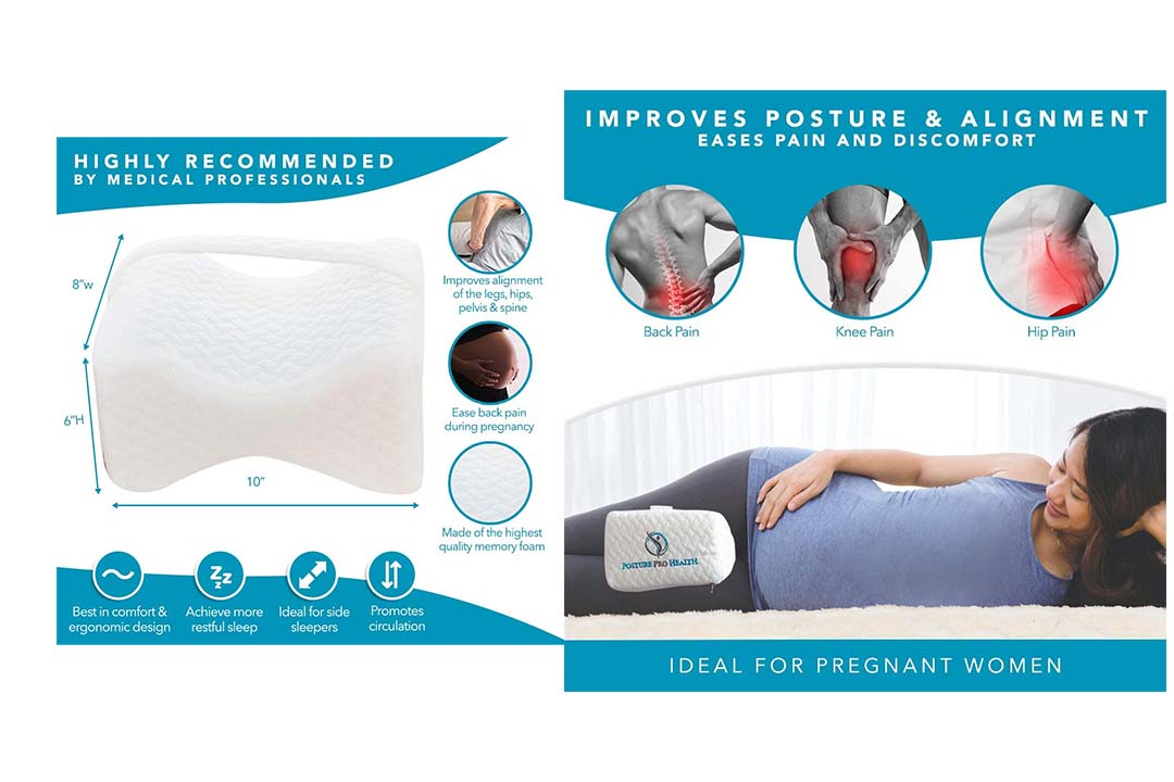 Posture Pro Orthopedic Knee Pillow