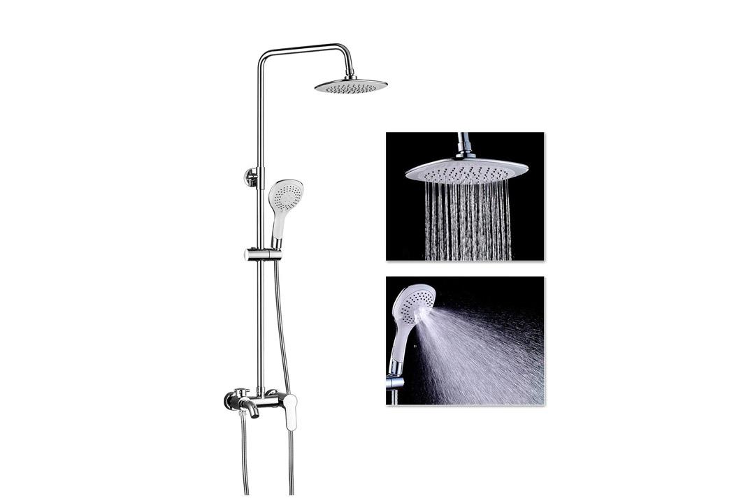 7. ROVOGO Thermostatic Shower System Set