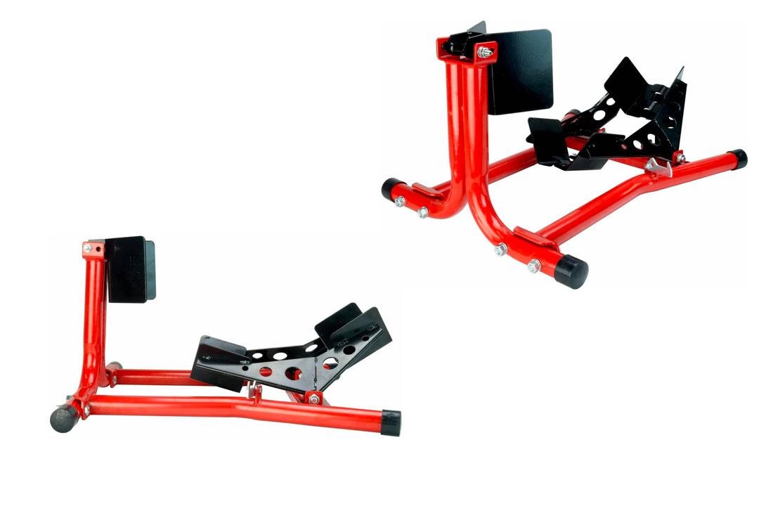 Dragway Tools 1500 lb Fixed Motorcycle Front Wheel Chock