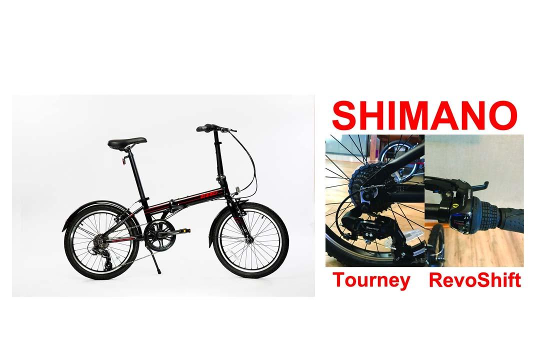 EuroMini ZiZZO Via 27lb Folding Bike