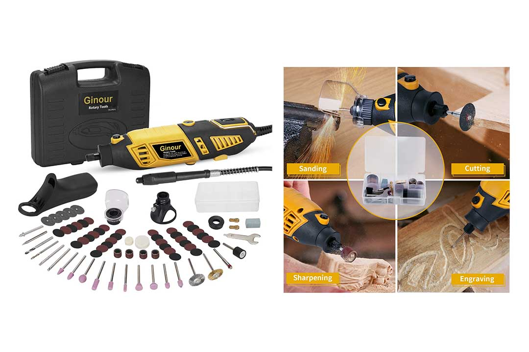Ginous 1.5 AMP Variable Tool kit