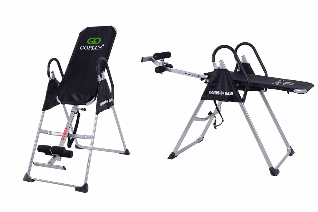 Goplus Gravity Fitness Therapy Inversion Table