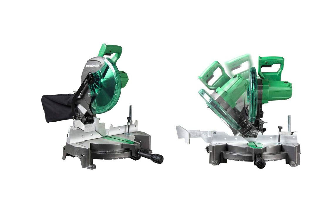 Metabo HPT C10FCGS 10 Inch Compound Miter Saw