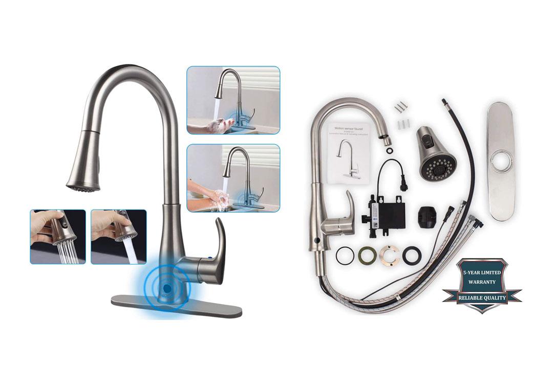 SOOSI Motion-sensor Kitchen Faucets