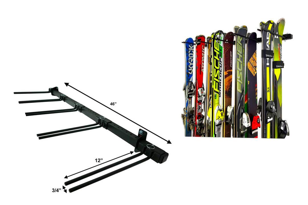 StoreYourBoard Omni Ski also Snowboard Wall Storage Rack
