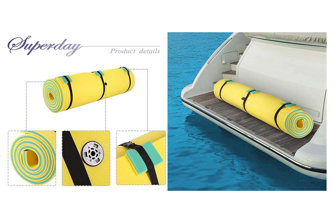Superday Floating Water Mat