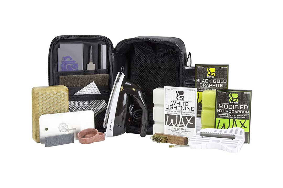 XCMAN Oxford 1680D Ski and Snowboard Waxing and Tuning Kit