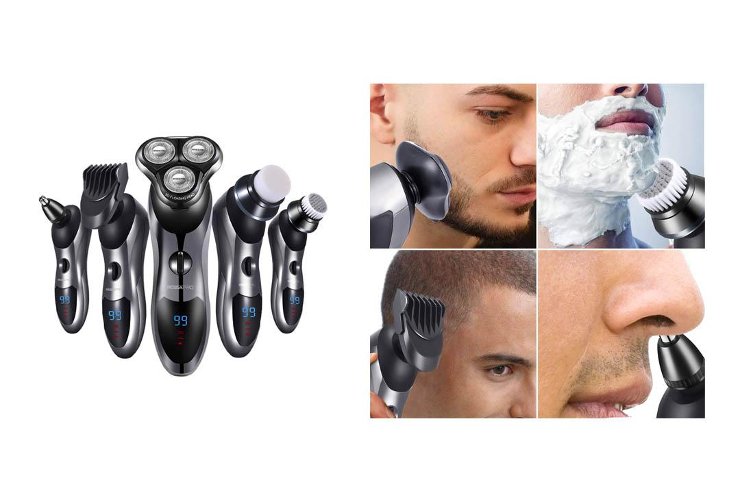 5 in 1 Electric Razor for Men Rotary Shaver
