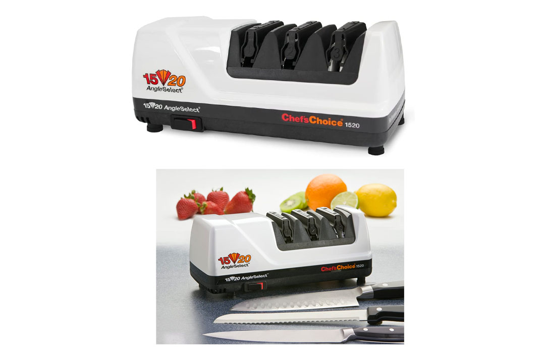 Chef's Choice 1520 AngleSelect Diamond Hone Electric Knife Sharpener