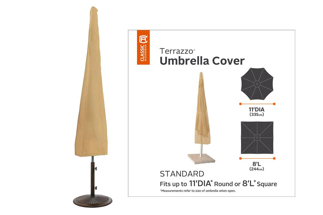 Classic Accessories Terrazzo Patio Umbrella Cover