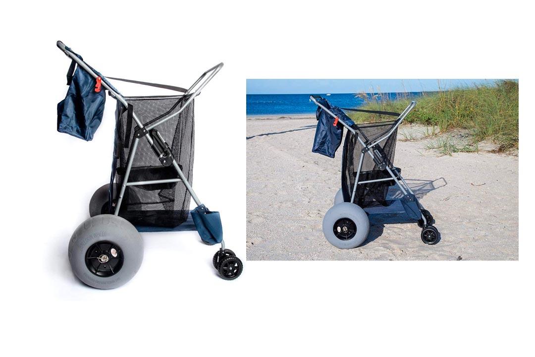 Custom Big Wheel Beach Cart