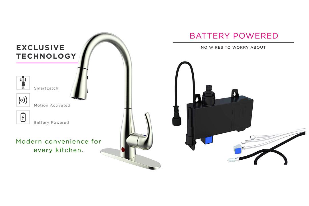 FLOW Motion-sensor Kitchen Faucet