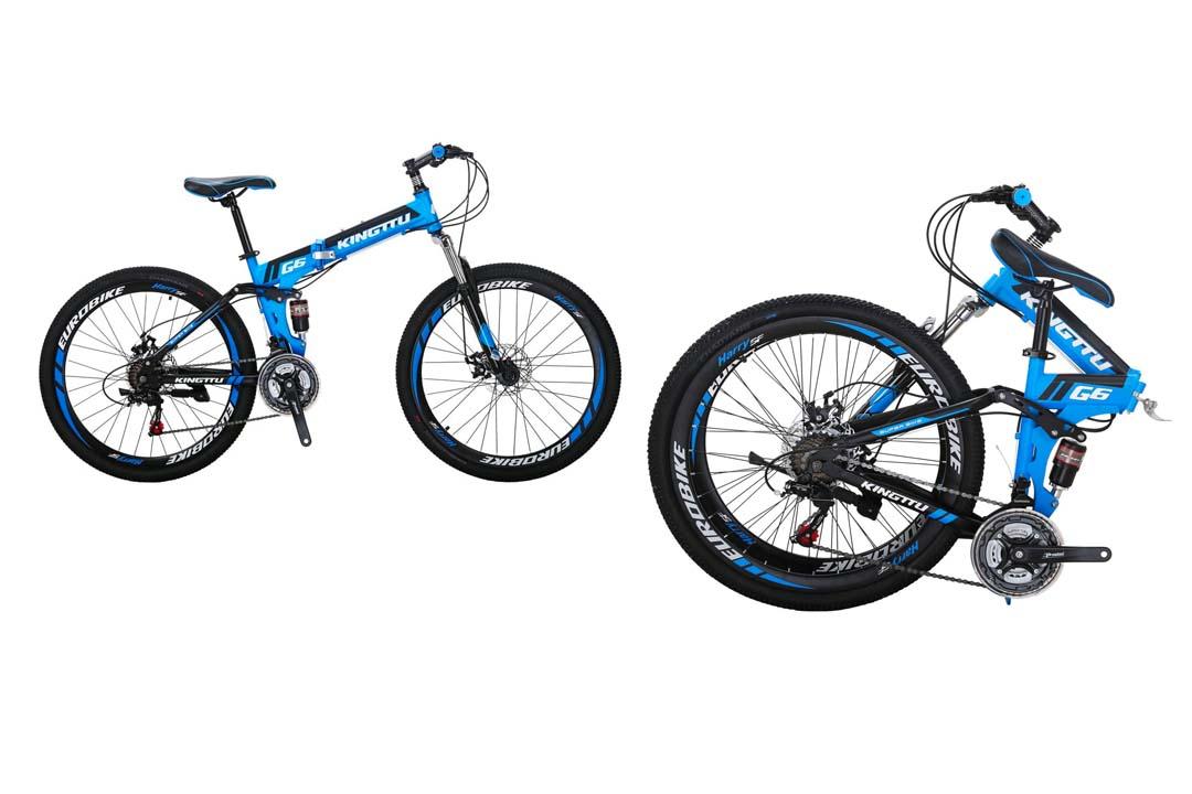 Kingttu KTG6 Folding Mountain Bike