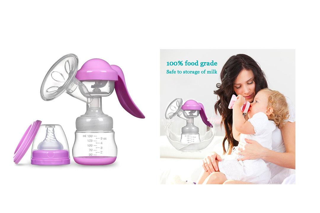 Manual Breast Pump Silicone Hand Pump