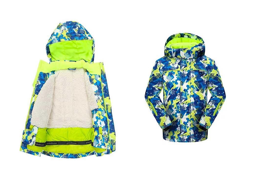 PHIBEE Bog Boy's Waterproof Snowboard SKI jacket