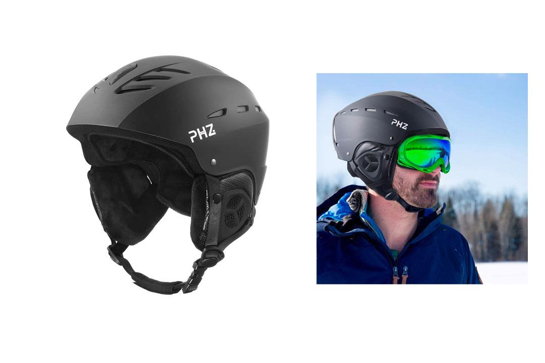 PHZ. Adults Ski Snowboard Sport Helmet