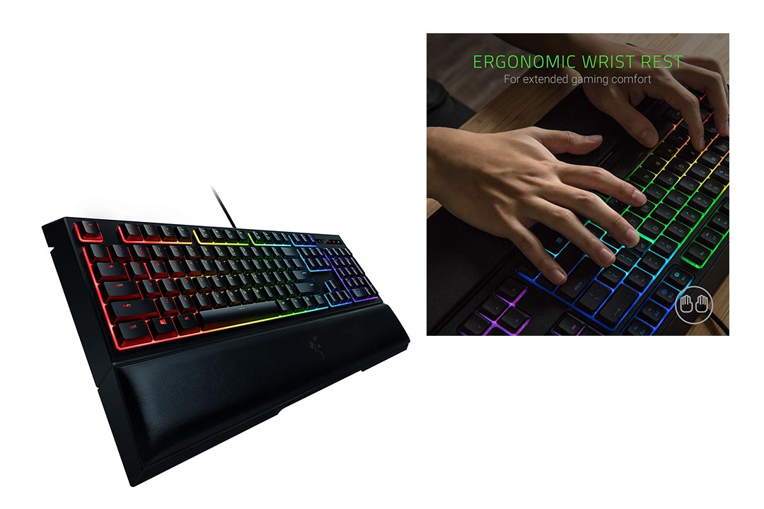 Razer Ornata Chroma Gaming Keyboard: Mecha-Membrane Key Switches