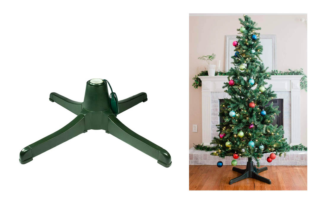 Rotating Christmas tree Stand- Winter Wonder