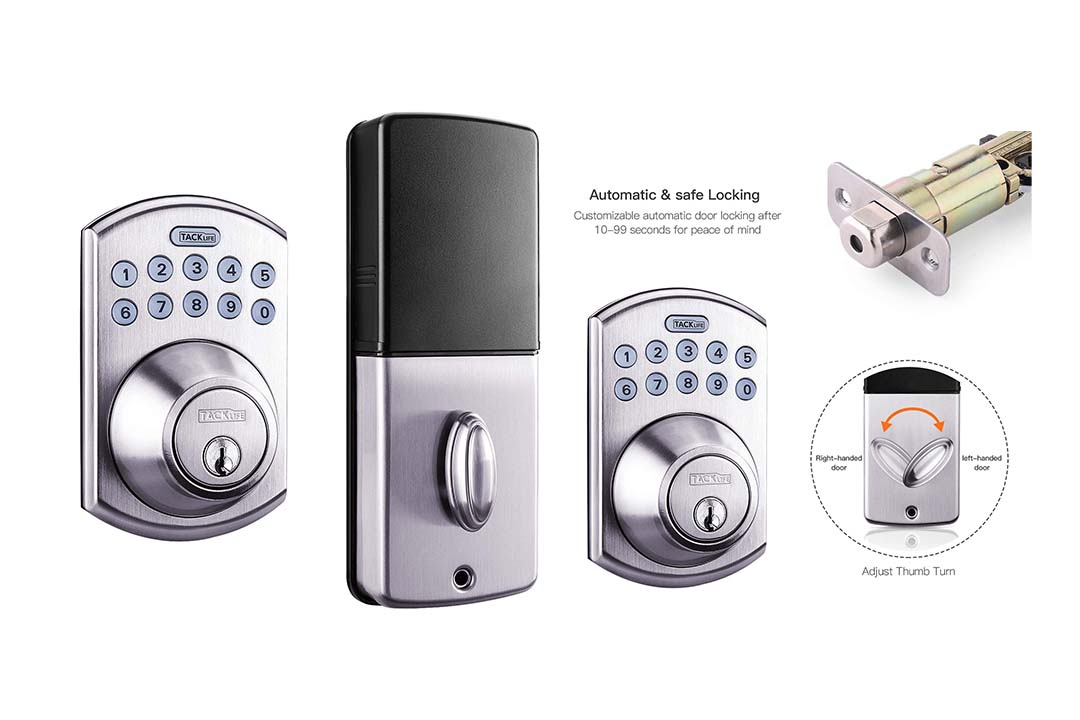 Tacklife Electronic Deadbolt Door Lock
