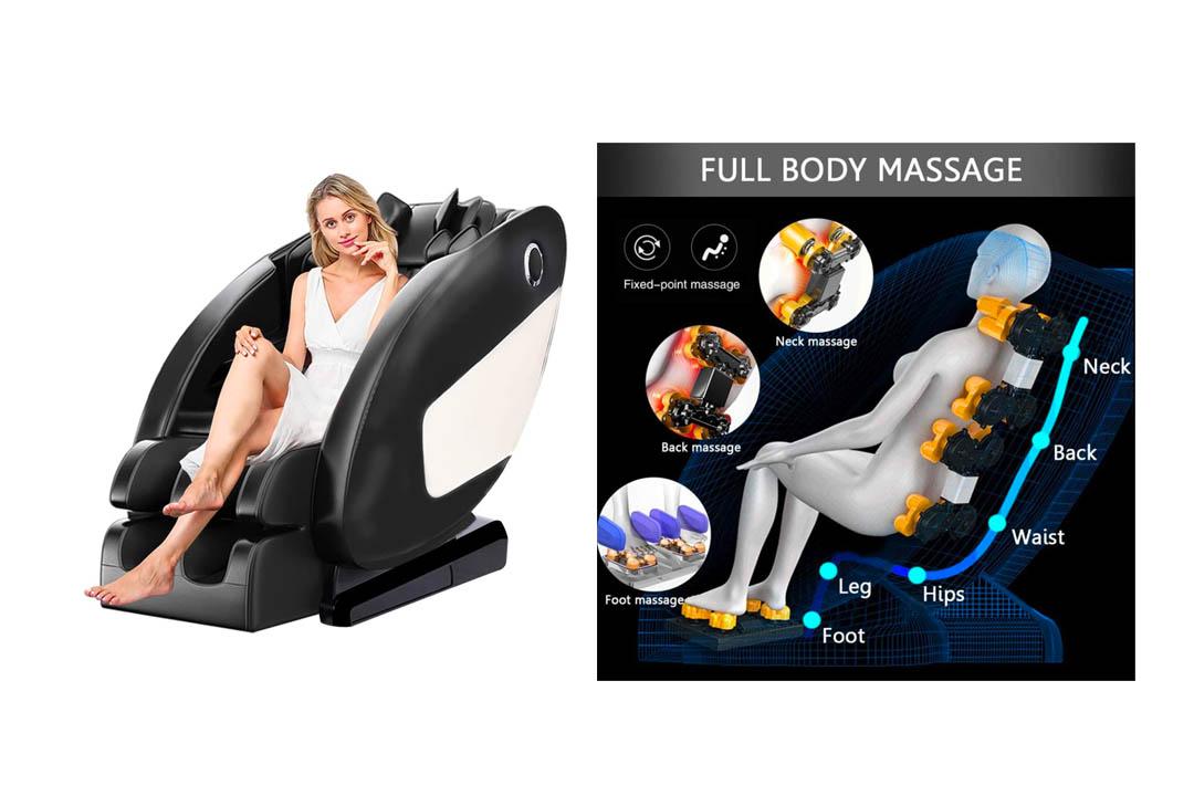 TissRelax Full Body Shiatsu Massage Chair