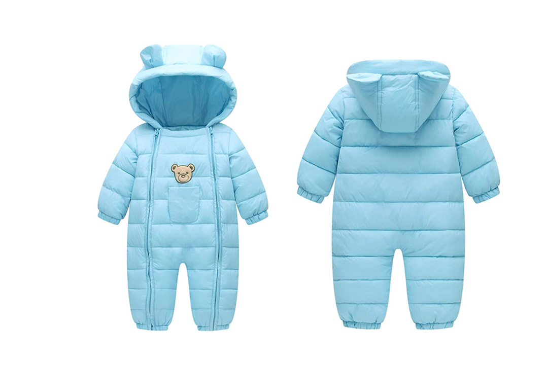baby Cotton Romper Toddler Thermal inter Coat