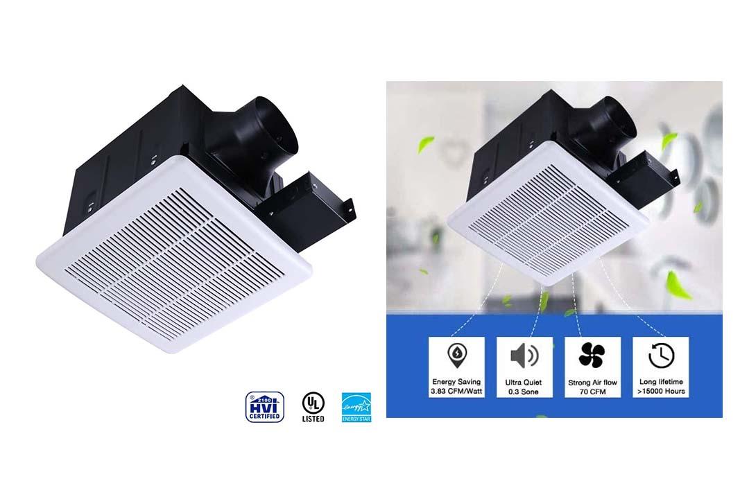 Ultra Quiet Ventilation Fan Bathroom Exhaust Fan