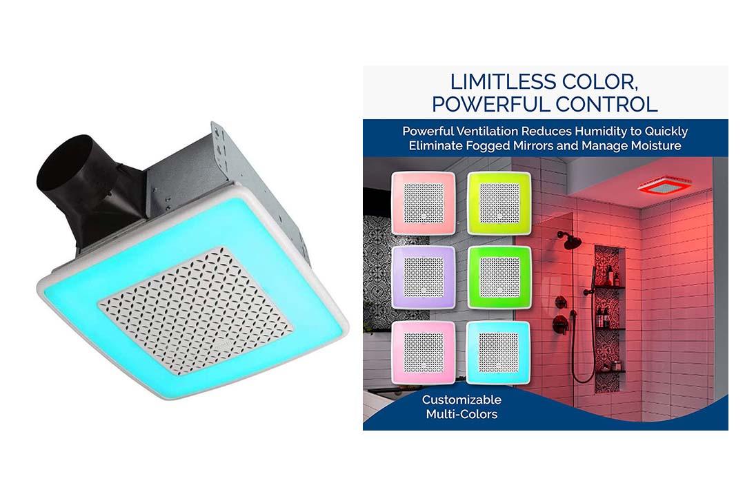 Broan-NuTone AER110RGBL ChromaComfort 110 CFM Ventilation Fan