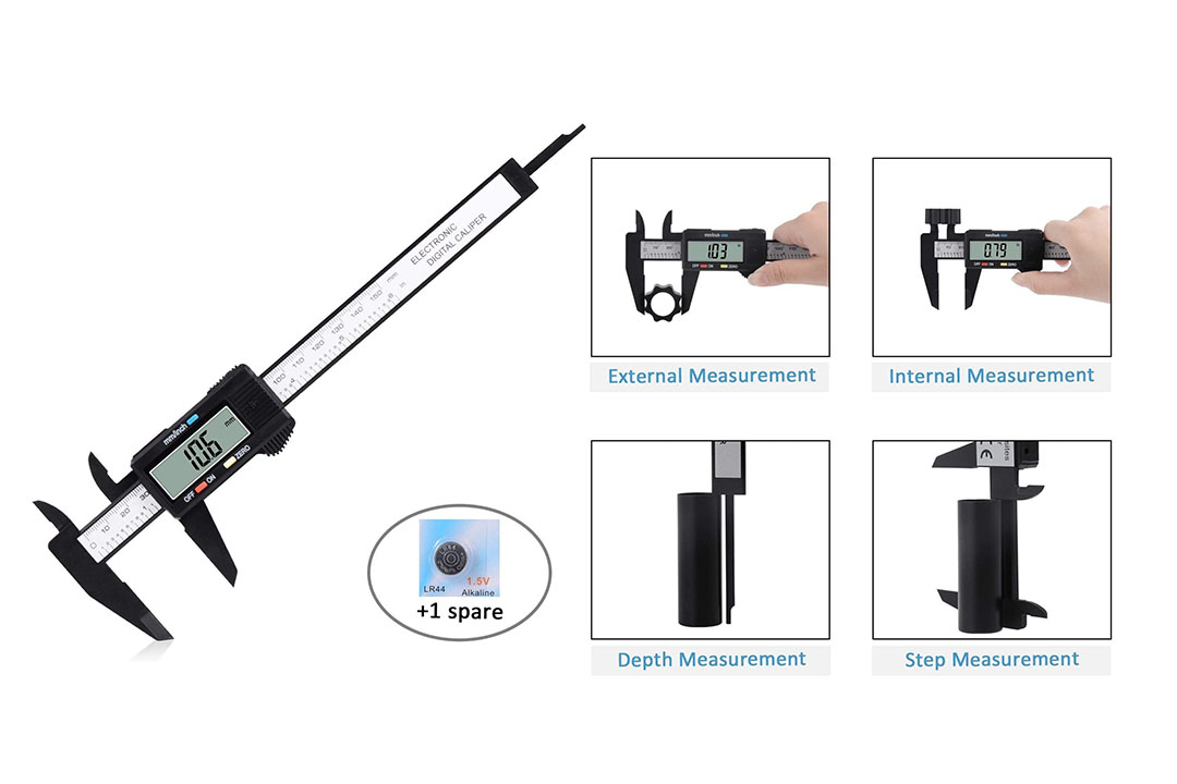 """Digital Caliper, Adoric 0-6"""" Calipers Measuring Tool"""