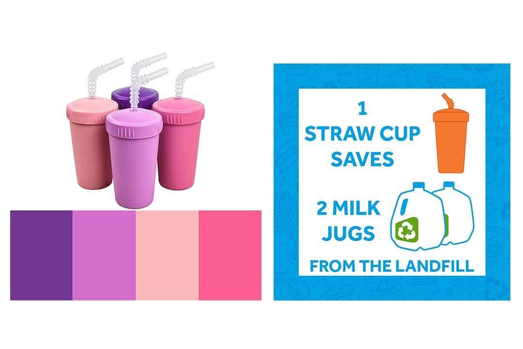 Re-Play Made in USA 4pk Straw Cups