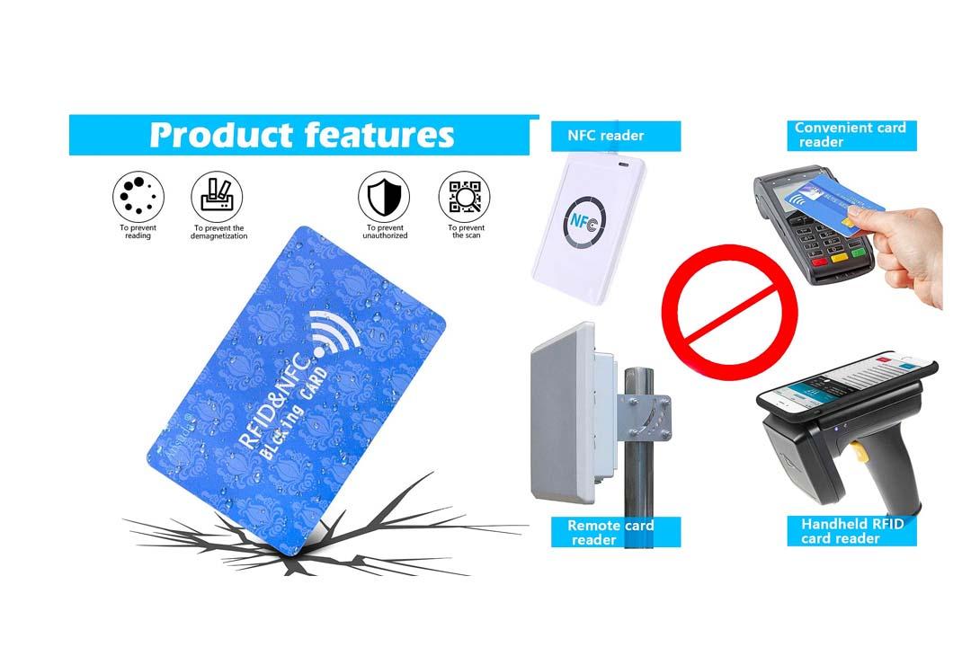 RFID Blocking Card, 3Pcs Protection