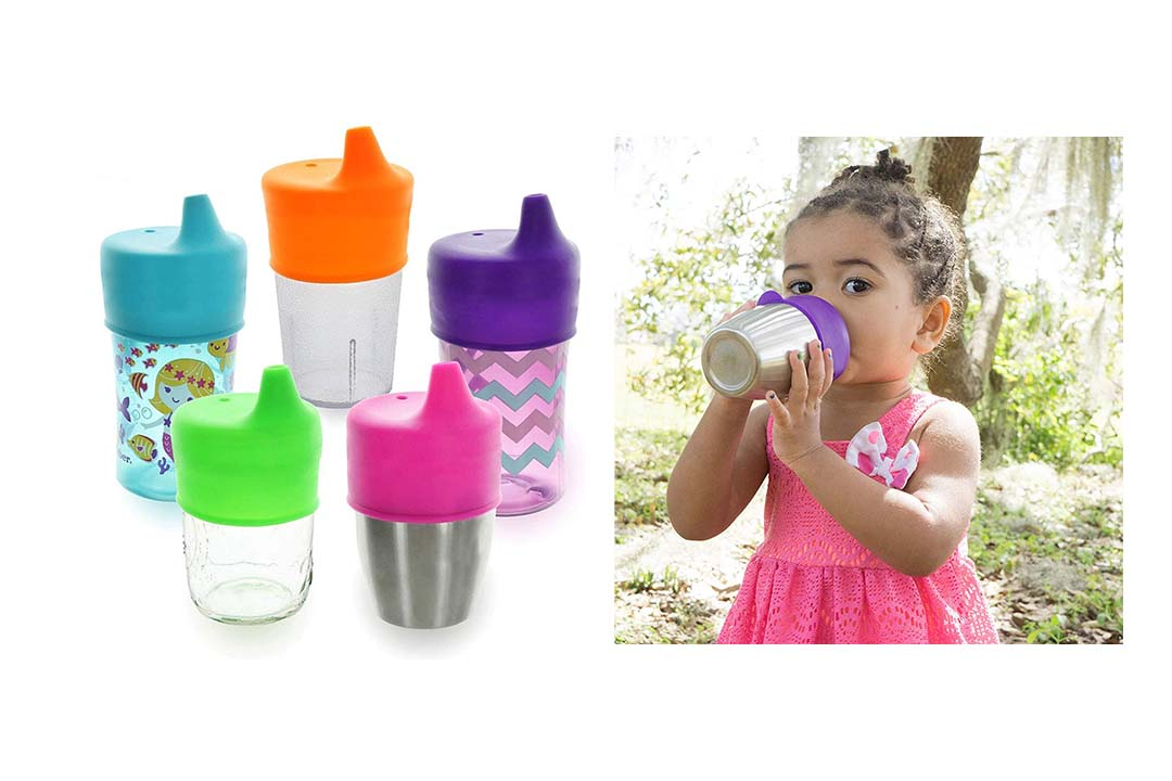 Sippy Cup Lids by Healthy Sprouts