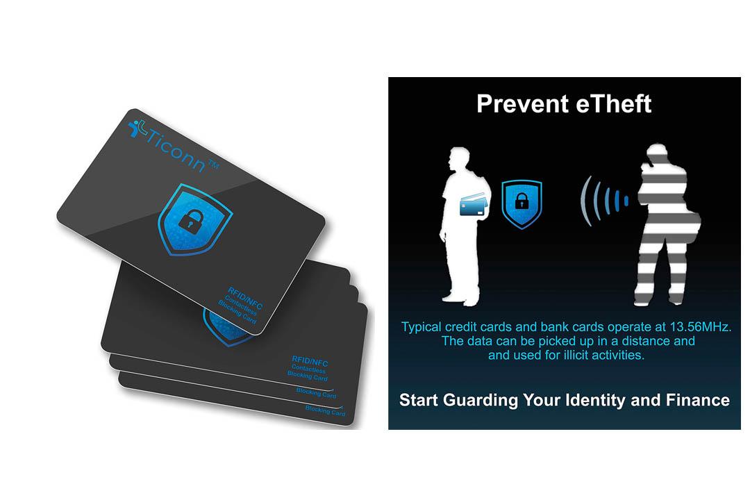 TICONN RFID Blocking Cards