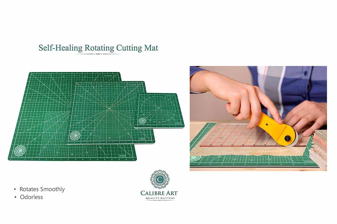 Calibre Art Rotating Self Healing Cutting Mat