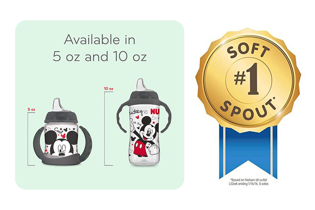 NUK Disney Learner Sippy Cup, Mickey Mouse