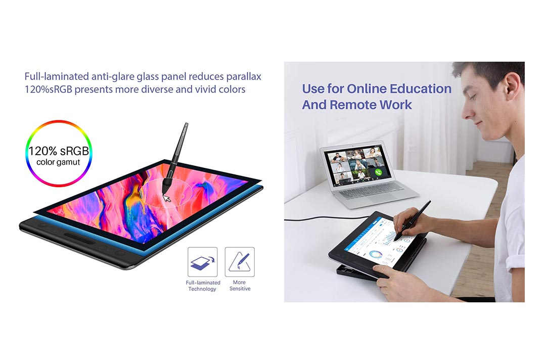 HUION KAMVAS Pro 12 GT-116 Drawing Tablet