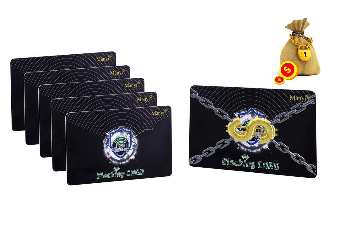 5Pcs RFID Blocking Card