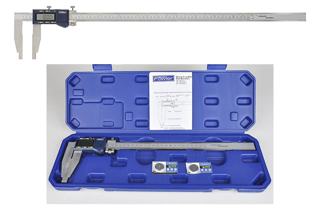 Neiko 01407A Electronic Digital Caliper Stainless Steel Body with Large LCD Screen