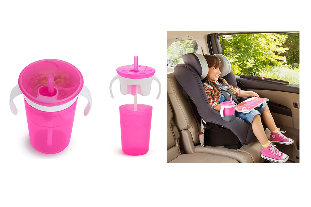 Munchkin SnackCatch & Sip 2-in-1 Snack Catcher