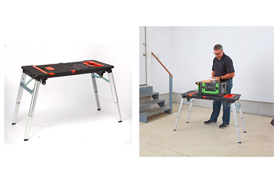 7-in-1 Portable Drywall Workbench