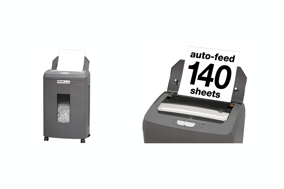 Boxis AutoShred 140-Sheet Auto