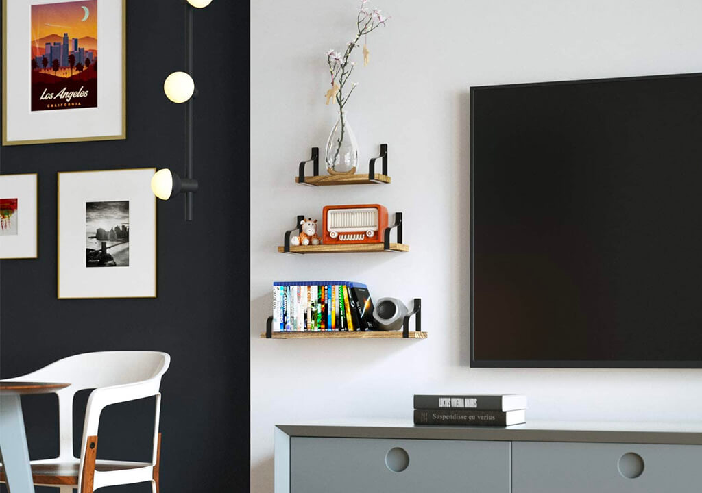 Top 10 Best Floating Shelves for Books of 2020 Review