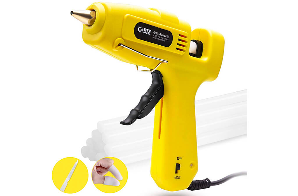 1. Hot Glue Gun High Temp-Cobiz Full Size (Not Mini)