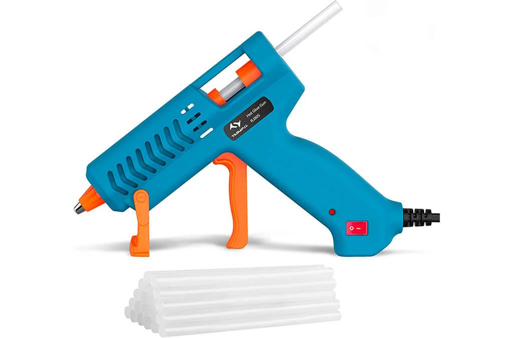 2. [50W】Hot Glue Gun, Tilswall Mini Hot Melt Glue Gun