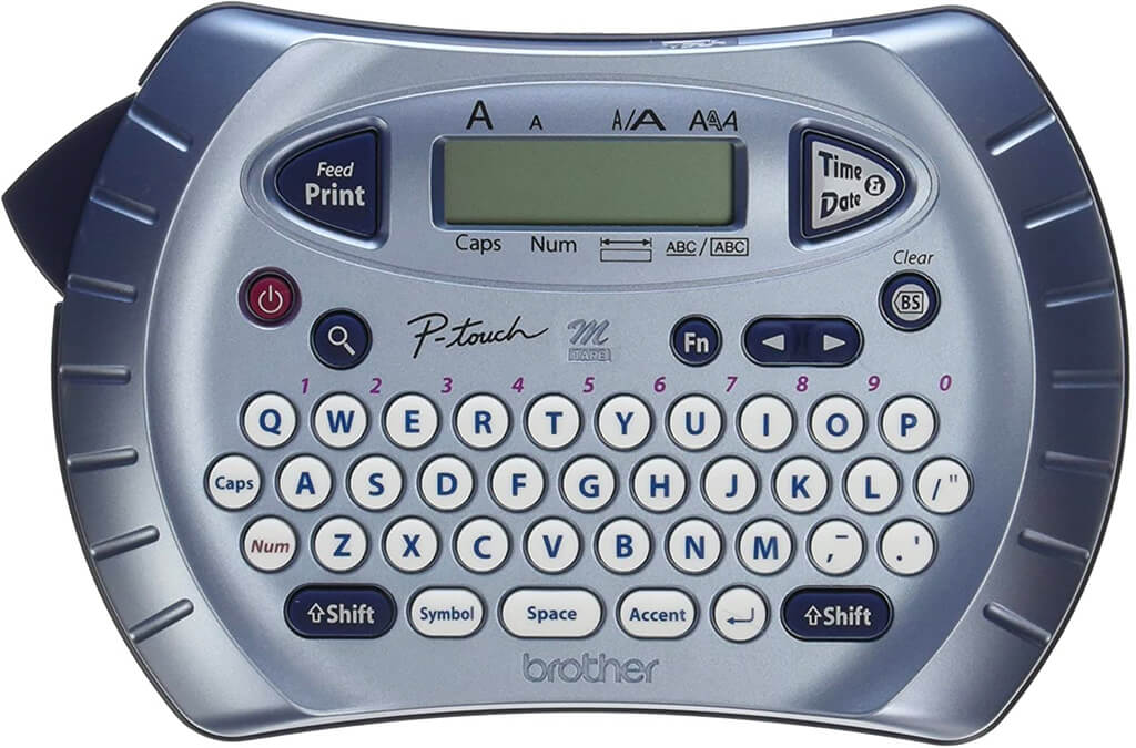 2. Brother P-touch Label Maker, Personal Handheld Labeler
