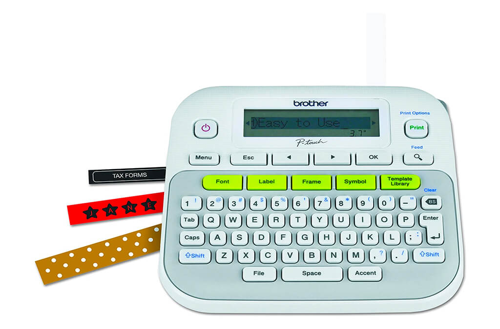3. Brother P-touch, PTD210
